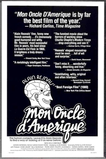 Meu Tio da América  - Poster / Capa / Cartaz - Oficial 5