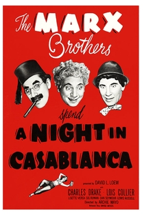Uma Noite em Casablanca - Poster / Capa / Cartaz - Oficial 5