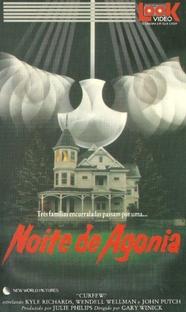 Noite de Agonia - Poster / Capa / Cartaz - Oficial 1