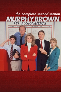 Murphy Brown (2ª Temporada) - Poster / Capa / Cartaz - Oficial 1