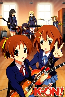 K-On! (1ª Temporada) - Poster / Capa / Cartaz - Oficial 15
