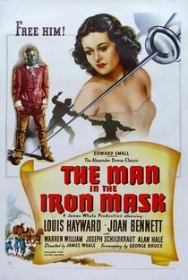 O Máscara de Ferro - Poster / Capa / Cartaz - Oficial 1