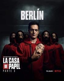 La Casa de Papel (Parte 3) - Poster / Capa / Cartaz - Oficial 3