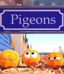 Pombos - Poster / Capa / Cartaz - Oficial 1