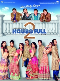 Housefull 2 - Poster / Capa / Cartaz - Oficial 3