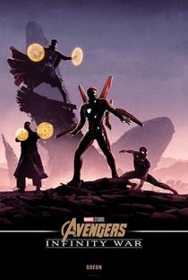 Vingadores: Guerra Infinita - Poster / Capa / Cartaz - Oficial 37