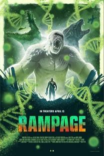 Rampage: Destruição Total - Poster / Capa / Cartaz - Oficial 4