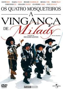 Os Quatro Mosqueteiros - A Vingança de Milady - Poster / Capa / Cartaz - Oficial 2