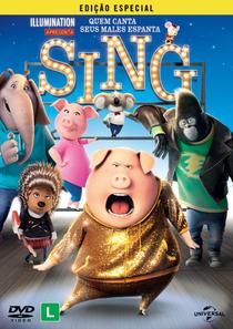Sing - Quem Canta Seus Males Espanta - Poster / Capa / Cartaz - Oficial 3