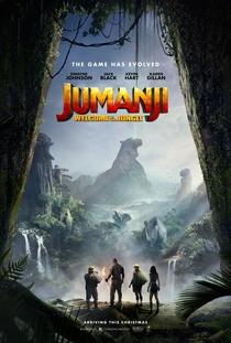 Jumanji: Bem-Vindo à Selva - Poster / Capa / Cartaz - Oficial 1