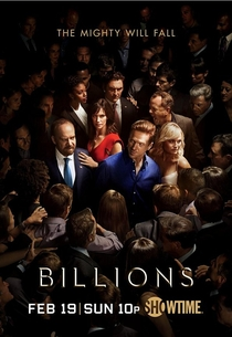 Billions (2ª Temporada) - Poster / Capa / Cartaz - Oficial 1