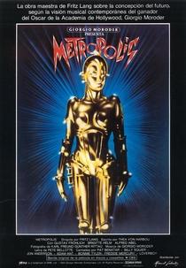 Giorgio Moroder Presents Metropolis - Poster / Capa / Cartaz - Oficial 1