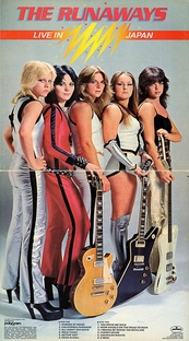 The Runaways - Live In Japan - Poster / Capa / Cartaz - Oficial 1