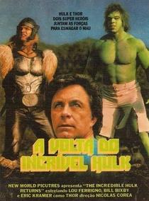 A Volta do Incrível Hulk - Poster / Capa / Cartaz - Oficial 1