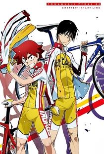 Yowamushi Pedal (1ª Temporada) - Poster / Capa / Cartaz - Oficial 4