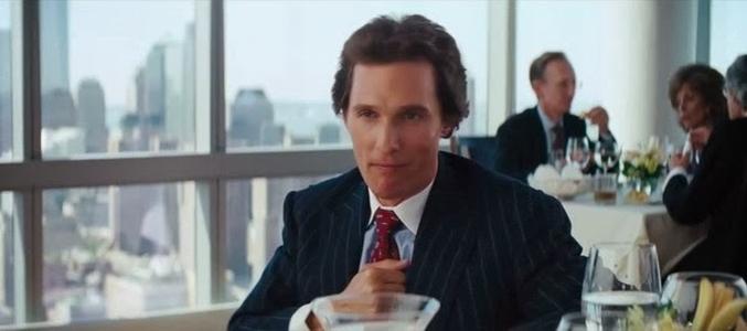 Veja o remix da batida no peito de Matthew McConaughey em O Lobo de Wall Street