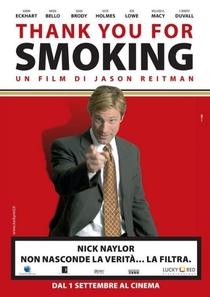 Obrigado por Fumar - Poster / Capa / Cartaz - Oficial 8