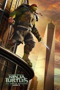 As Tartarugas Ninja: Fora das Sombras - Poster / Capa / Cartaz - Oficial 11