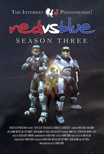 Red Vs Blue (3ª Temporada) - Poster / Capa / Cartaz - Oficial 1