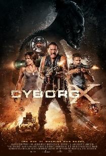 Cyborg X - Poster / Capa / Cartaz - Oficial 1