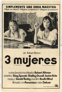 Três Mulheres - Poster / Capa / Cartaz - Oficial 6