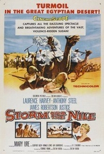 Tormenta Sobre o Nilo - Poster / Capa / Cartaz - Oficial 1