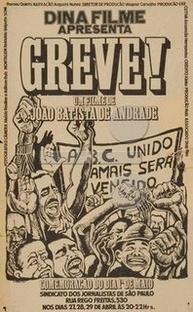 Greve! - Poster / Capa / Cartaz - Oficial 1