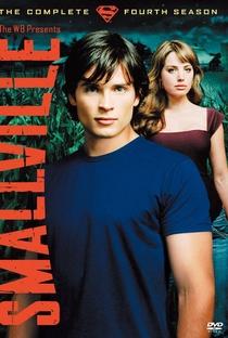 Smallville: As Aventuras do Superboy (4ª Temporada) - Poster / Capa / Cartaz - Oficial 1