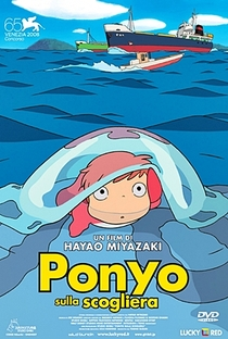 Ponyo: Uma Amizade que Veio do Mar - Poster / Capa / Cartaz - Oficial 31