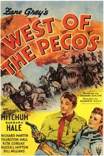 A Oeste de Pecos - Poster / Capa / Cartaz - Oficial 1