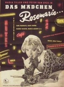 Das Mädchen Rosemarie - Poster / Capa / Cartaz - Oficial 2