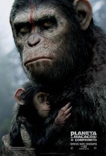 Planeta dos Macacos: O Confronto - Poster / Capa / Cartaz - Oficial 3