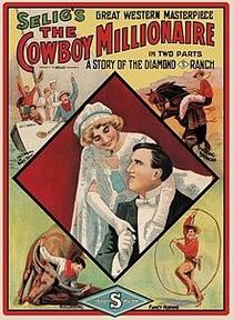 The Cowboy Millionaire - Poster / Capa / Cartaz - Oficial 1