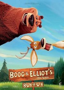A Corrida da Meia-Noite de Boog e Elliot - Poster / Capa / Cartaz - Oficial 1