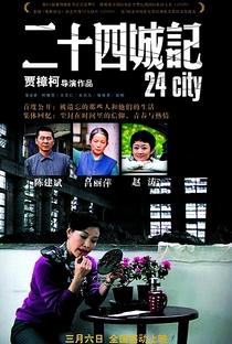 24 City - Poster / Capa / Cartaz - Oficial 8