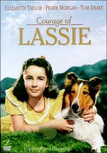 A Coragem de Lassie - Poster / Capa / Cartaz - Oficial 1