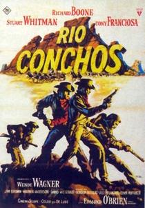 Rio Conchos - Poster / Capa / Cartaz - Oficial 1
