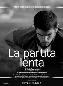La partita lenta - Poster / Capa / Cartaz - Oficial 1