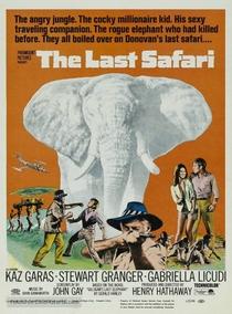 O Último Safari - Poster / Capa / Cartaz - Oficial 1