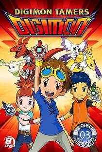 Digimon Tamers (3ª Temporada) - Poster / Capa / Cartaz - Oficial 1