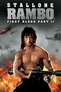 Rambo II - A Missão - Poster / Capa / Cartaz - Oficial 12