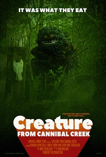 Creature from Cannibal Creek - Poster / Capa / Cartaz - Oficial 1