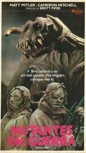 Mutantes em Guerra - Poster / Capa / Cartaz - Oficial 2