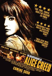 O Desaparecimento de Alice Creed - Poster / Capa / Cartaz - Oficial 5