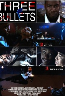 Three Bullets - Poster / Capa / Cartaz - Oficial 1