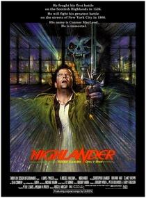 Highlander - O Guerreiro Imortal - Poster / Capa / Cartaz - Oficial 1