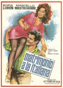 Matrimônio à italiana - Poster / Capa / Cartaz - Oficial 2