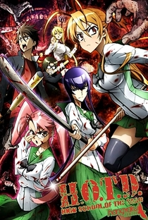 Highschool of the Dead - Poster / Capa / Cartaz - Oficial 37