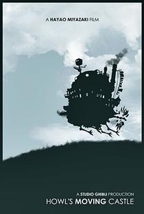 O Castelo Animado - Poster / Capa / Cartaz - Oficial 7