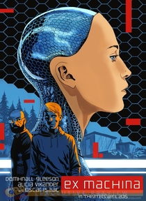 Ex Machina: Instinto Artificial - Poster / Capa / Cartaz - Oficial 6
